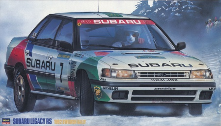 Subaru Legacy RS 1992 Swedish Rally (Limited Edition) 007/20290