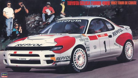 Toyota Celica Turbo 4WD 1992 Tour De Corse (Limited Edition) 007/20291