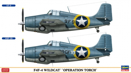 F4F-4 Wildcat Operation Torch (2 kits Limited Edition) 007/02240