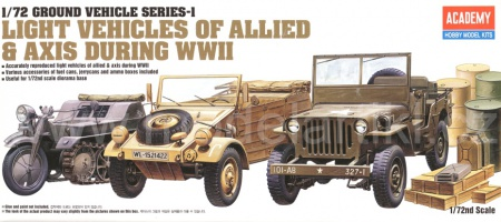 Light Vehicles Of Allied + Axis During WWII 002/13416
