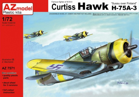 Curtiss Hawk H-75A-3 052/AZ7571