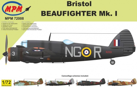 Bristol Beaufighter Mk. I (Limited Edition) 090/MPM72008