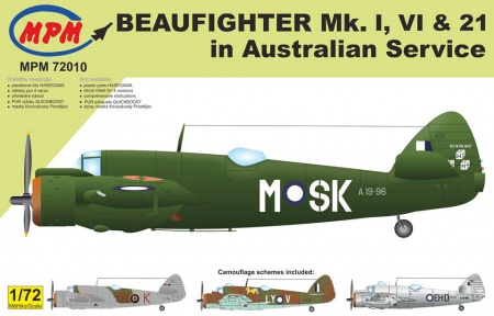 Bristol Beaufighter Mk. I Mk. VI and Mk. XXI (Limited Edition) 090/MPM72010