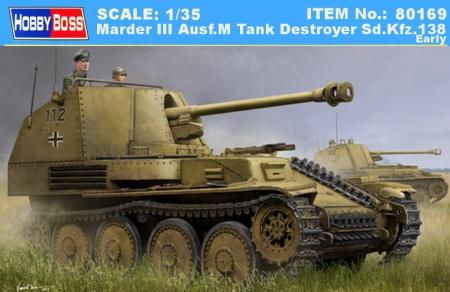 Marder III Ausf.M Tank Destroyer Sd.Kfz.138 - Early