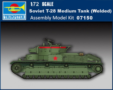 Soviet T-28 Medium Tank (Welded) 005/07150