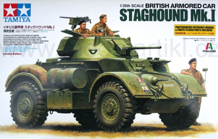 British Armored Car Staghound Mk.I (Limited Edition) 001/89770