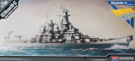 USS Missouri BB-63 (Modelers Edition) 002/14223