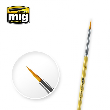 2/0 Synthetic Round Brush 085/A.MIG-8612