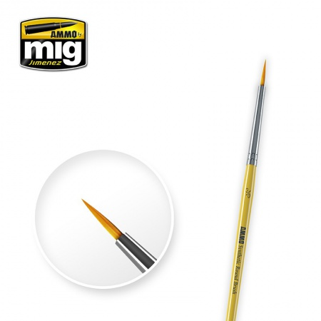 3/0 Synthetic Round Brush 085/A.MIG-8611