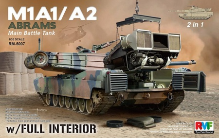 M1A1/ A2 Abrams w/Full Interior 2 in 1 099/RM-5007