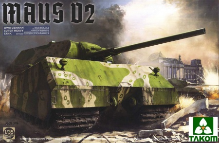 Maus V2 WWII German Super Heavy Tank 103/2050
