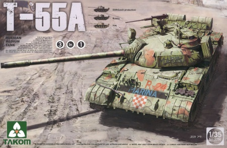 T-55A Russian Army Middle Tank 3 in 1 103/2056