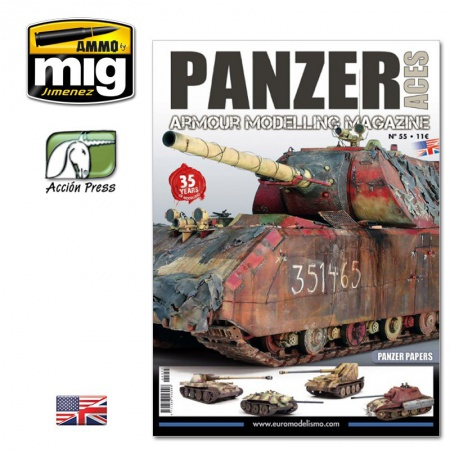 Panzer Aces Nº55 Panzer Papers (English Version) 085/PANZ-0055