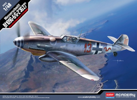 Messerschmitt BF109 G-6/G-2 JG27 (Limited Edition)