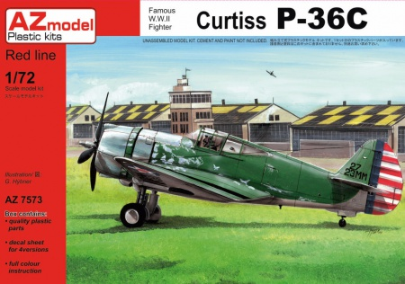 Curtiss P-36C 052/AZ7573