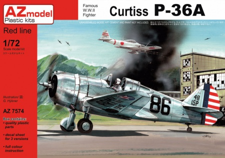 Curtiss P-36A 052/AZ7574
