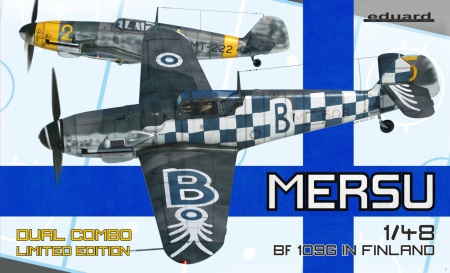 Mersu/Bf 109G in Finland (Limited Edition) Dual Combo 003/11114