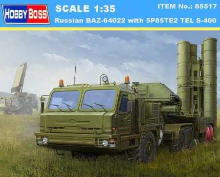 Russian BAZ-64022 with 5P85TE2 TEL S-400 008/85517