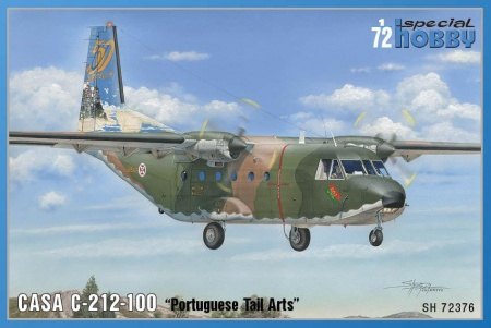 CASA C-212-100 TAIL ART (Limited Edition) 012/SH72376