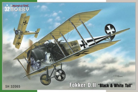 Fokker D.II  Black & White Tail 012/SH32065