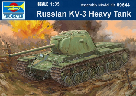 Russian KV-3 Heavy Tank 005/09544