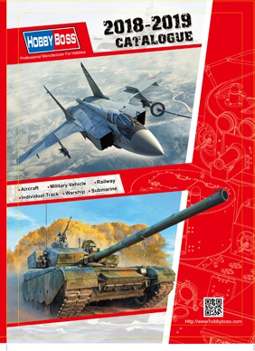 Hobby Boss Catalogue 2018 - 2019 008/KAT2018-19