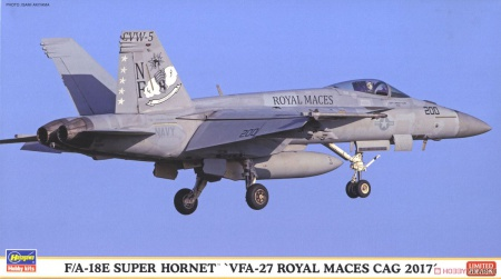 F/A-18 Super Hornet VFA-27 Royal Maces (Limited Edition) 007/02254