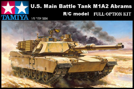 U.S. Main Battle Tank M1A2 Abrams (Full-Option Kit) 001/56041