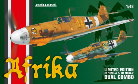 Bf 109F/G-2 Afrika (Limited Edition-Dual Combo) 003/11116