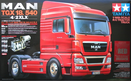 RC MAN TGX 18.540 4x2 XLX (Red Edition) 001/56332