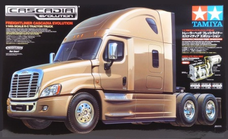 RC Freightliner Cascadia Evolution 001/56340