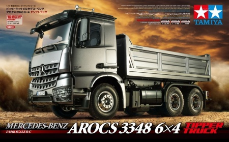 RC Mercedes Benz Arocs 3348 - 6x4 Tipper Truck 001/56357