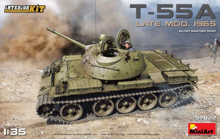 T-55A Late Mod. 1965 w/ Interior Kit 089/37022