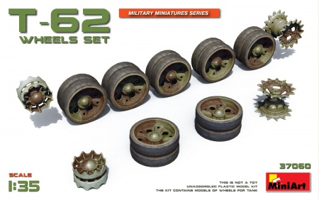 T-62 wheels set 089/37060