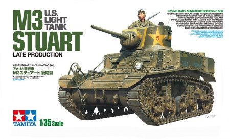 U.S. Light Tank M3 Stuart Late Production 001/35360