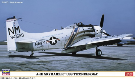 A-1H Skyraider USS Ticonderoga (2 kits Limited Edition) 007/02262
