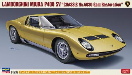 Lamborghini Miura P400 SV Chassis No.5030 Gold Restoration (Limited Edition)