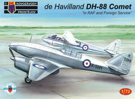 de Havilland DH-88 Comet - in RAF and Foreign Service 088/KPM0101