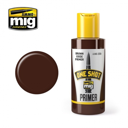 One Shot Primer Brown Oxide 60ml 085/A.MIG-2026