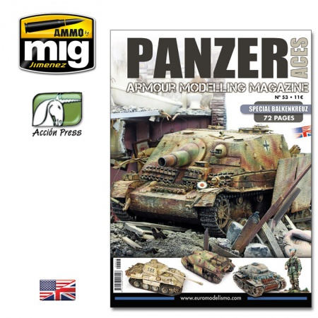 Panzer Aces Nº53 Special Balkenkreuz (English Version) 085/PANZ-0053