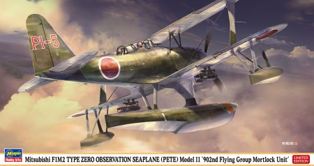 Mitsubishi F1M2 Type Zero Observation Seaplane PETE Model 11 902nd Flying Group Mortlock Unit (Limited Edition) 007/07464