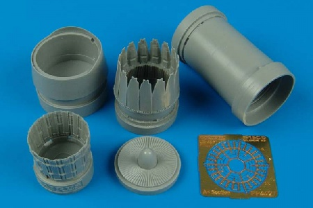 F-16C/D block 52 - Exhaust Nozzles (1:48 Kinetic) 033/4427