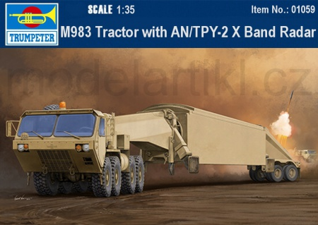 M983 Tractor with AN/TPY-2 X Band Radar 005/01059