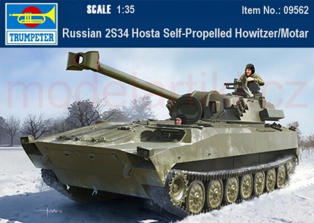 Russian 2S34 Hosta Self-Propelled Howitzer/Motar 005/09562