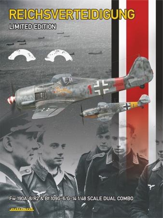 Reichsverteidigung - Fw 190A-8/R2 a Bf 109G-6/14 (Dual Combo - Limited Edition) 003/11119