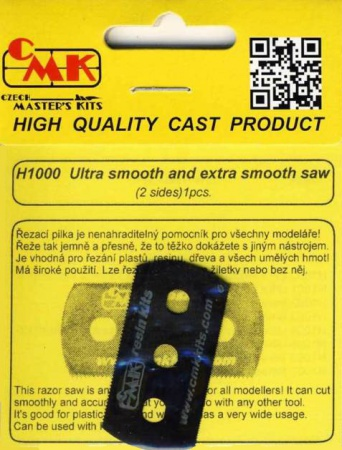 Ultra smooth and extra smooth saw (2 sides)1p 046/H1000