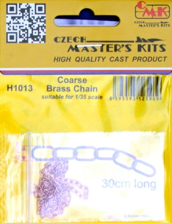 Coarse Brass Chain - suitable for 1/35 scale 046/H1013