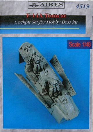 F-14A Tomcat - Cockpit Set (1:48 Hobby boss) 033/4519