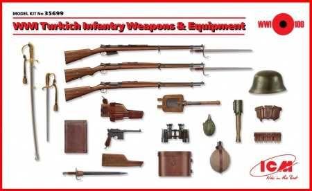 WWI Turkish Infantry Weapon & Equipment 057/35699