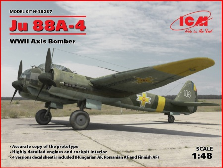 Ju 88A-4, WWII Axis Bomber 057/48237